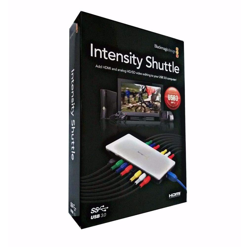 Buy Blackmagic Design Intensity Shuttle Thunderbolt Online At Low Prices In India Amazon In