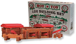 product image for Roy Toy Log Building Set The Fort Number 10