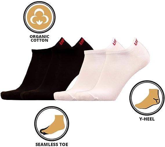 3 Unidades Calcetines para Zapatillas de algod/ón org/ánico UPHILLSPORT