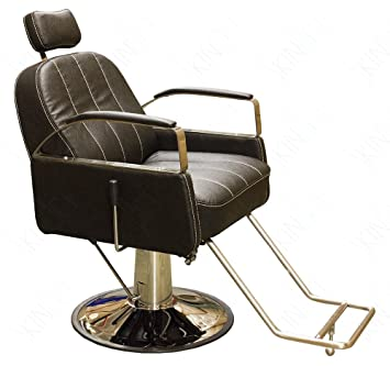 Aviator Design Beauty Salon Chair With Reclinable Backrest