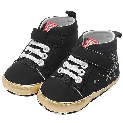 fb5faf73024e Saingace Toddler Kids Baby Boys Girls Firework Star Anti-Slip Sneaker  Stylish Soft Sole Running