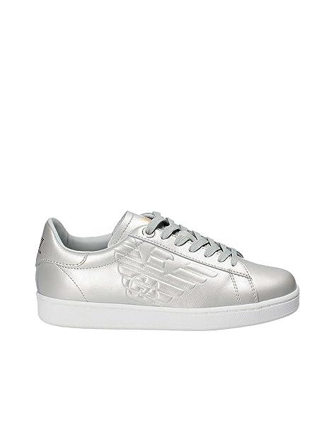 Emporio Armani Ea7 248028 CC299 Sneakers Uomo Grigio 37-1  Amazon.it   Scarpe e borse cb648104389