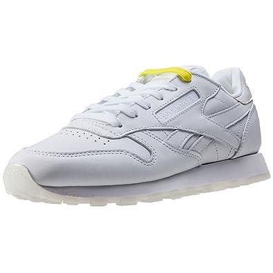 Reebok - Chaussure Cl Lthr Face Bd1328 Blanc - Couleur Blanc - Taille 37 xNdpf