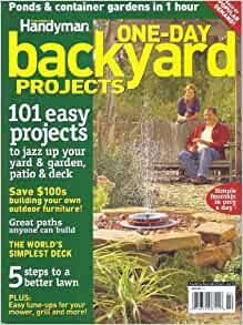 One day backyard projects the family handyman ken for Family handyman phone number