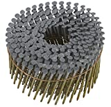 Hitachi 13364 2-Inch x 0.092-Inch Full Round-Head Smooth Shank Hot-Dipped Galvanized Wire Coil Siding Nails, 3600-Pack