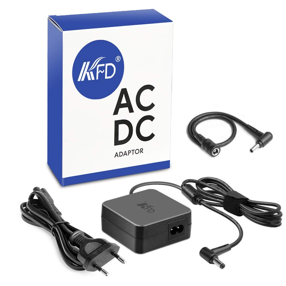 KFD 65W Cargador Portátil Adaptador de Corriente para ASUS Zenbook UX32A UX305 VivoBook 15 S512FA UX305LA UX21A X540 X540SA UX430UA K540UB Medion ...