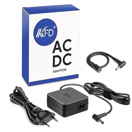 KFD 45W 65W Adaptador Cargador Ordenador Portátil para ASUS Q301L Q501L Q502 Q502L Q551 TP500 TP500L
