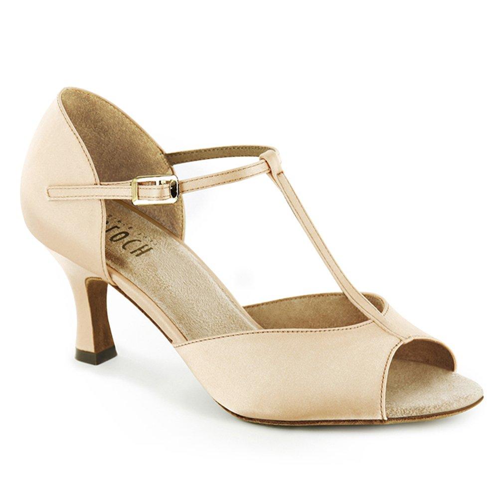 Bloch Women's Issabella Ballroom Shoe,Rose,9.5 M US by Bloch
