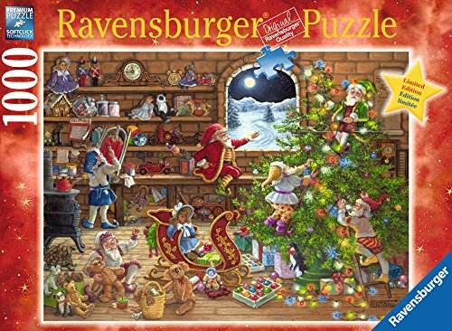 Limited Edition Jigsaw - Countdown to Christmas, 1000 Piece Limited Edition Jigsaw Puzzle Made by Ravensburger. Artist is David Krustkamp