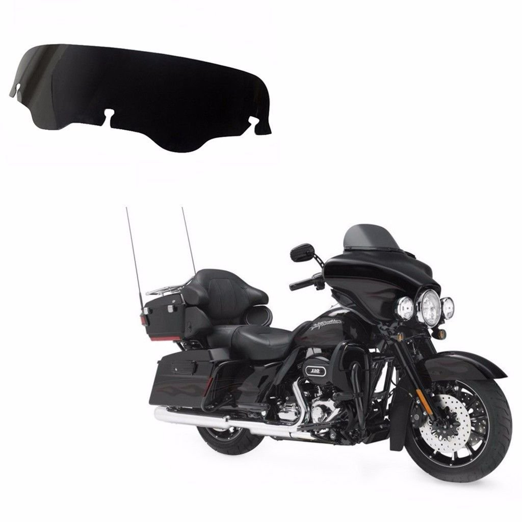 Smoke 4' Windshield Windscreen For Harley Electra Street Glide FLHX FLHT Touring BHYShop