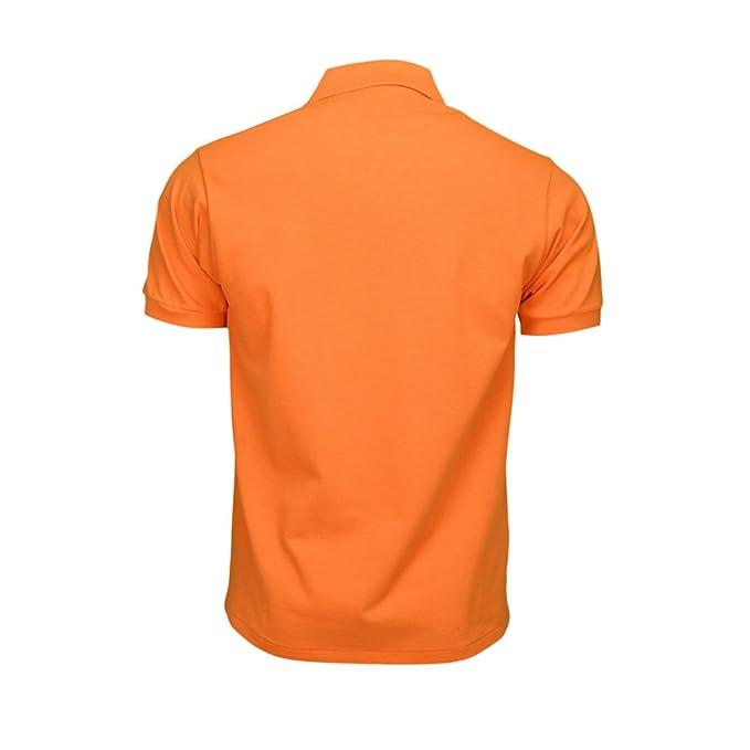 Lacoste - Polo - Blusa - para Hombre Naranja Naranja: Amazon.es ...