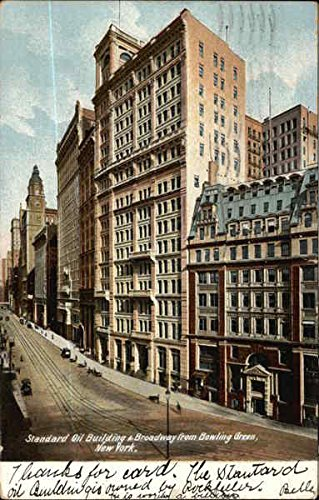 Standard Oil Building - Standard Oil Building & Broadway from Bowling Green New York, New York Original Vintage Postcard