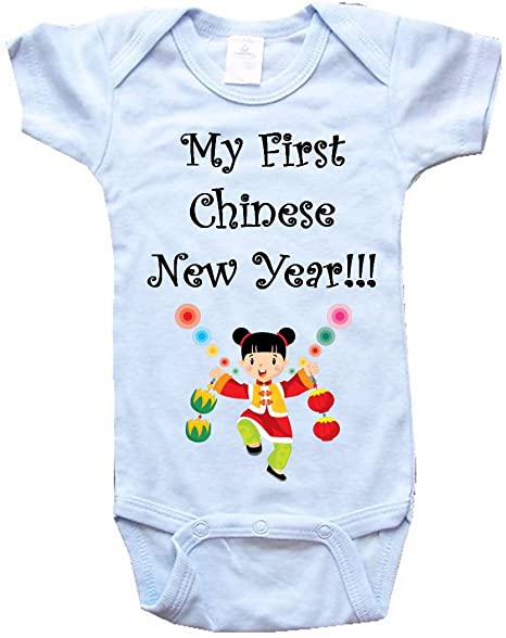 Amazon.com: Mi primera año nuevo chino. – Bigboymusic bebé ...