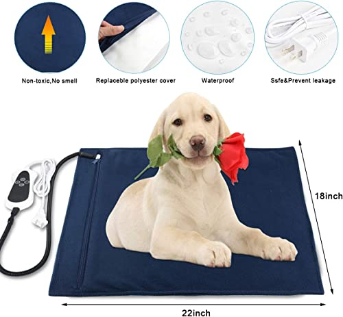 RIOGOO-Pet-Heating-Pad,-Electric-Heating-Pad-for-Dogs