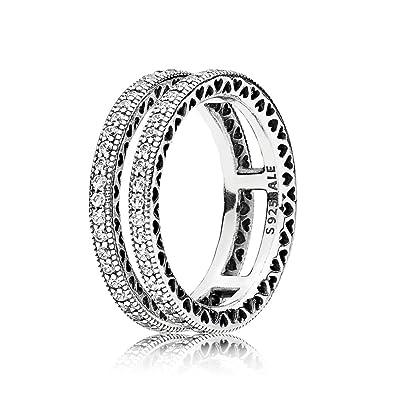 Pandora Women Silver Promise Ring - 196237-58 dR4aDKTO