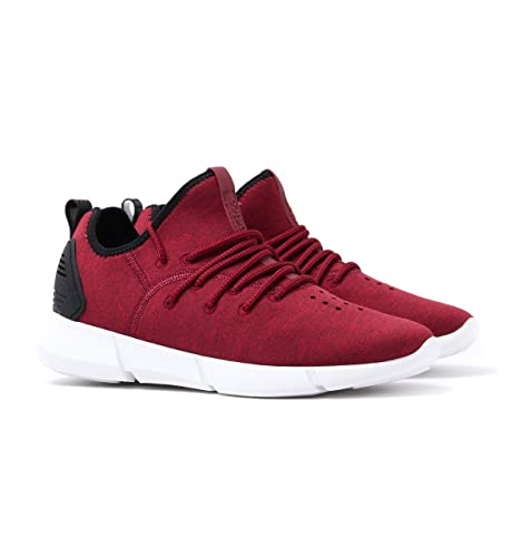 Infinity 2.0 Red Marl Neoprene Trainers-UK 7 Cortica