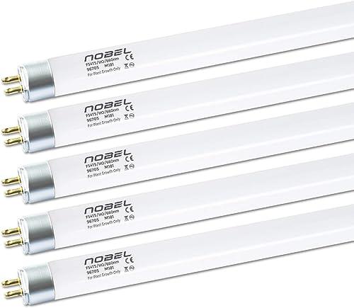 Nobel Commercial 660nm Red T5 Fluorescent Indoor Growing Bulbs, 4-Feet 54-Watt HO Flowering Lamps