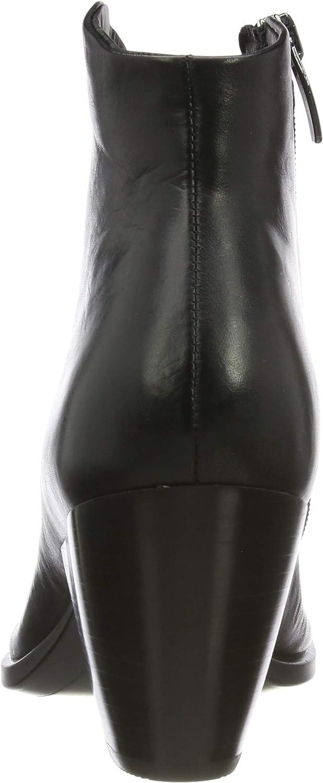 ECCO Damen Shape 55 Western Cowboystiefel Schwarz Black 1001