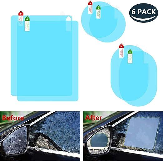 Auto Seitenspiegel Regenschutz Abdeckkappe f/ür Auto Auto R/ückspiegel Sehr praktisch Vektenxi 2er Pack Regenschutz