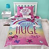 Jo Jo Siwa Bows Cute Single Panel Duvet Cover Bed Set