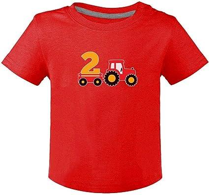 Green Turtle T-Shirts Camiseta para niños - Regalo Original de cumpleaños para niños y niñas de 2 años: Amazon.es: Ropa y accesorios