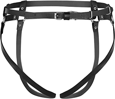 Agoky Arnés Cinturón de Cuero Pierna Liga Mujer Harness Belt ...