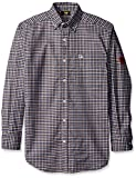 Caterpillar Men's Flame Resistant Plaid Shirt