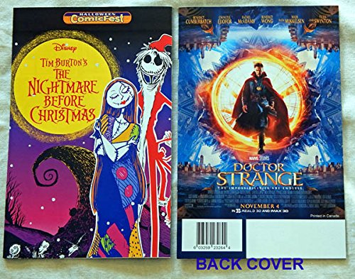 Tim Burton's The Nightmare Before Christmas Mini-Comic Book Halloween Comicfest 2016 - Tokyo Pop 2016 - Unused, Unread, UNCIRCULATED - Visually Graded 9.8 by ME - Manga From Japan ()