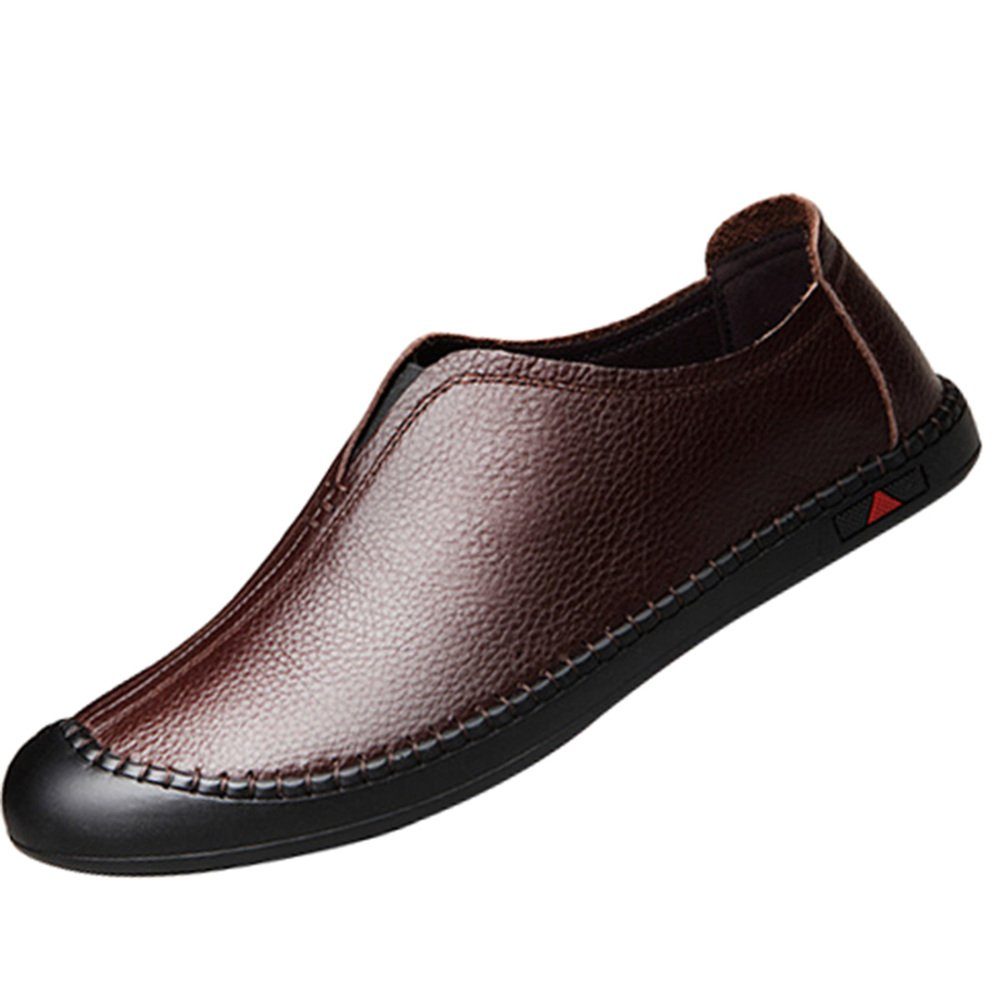 Zapatos De Hombre Munch Zapatos Casuales Moda De Fondo Suave Pedal Salvaje Zapatos 38EU/5US|Marrón