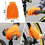 SINGARE 7pcs Bicycle Cleaning Tools Set, Bicycle