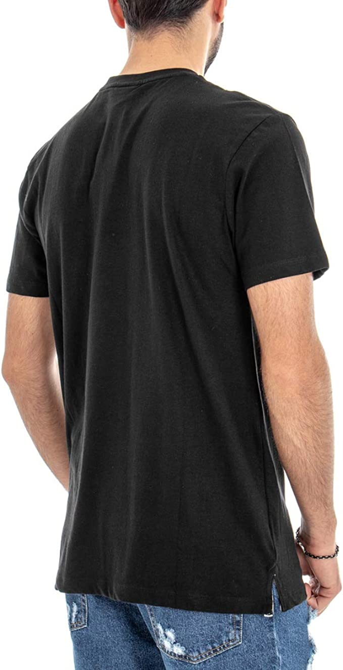 Giosal Camiseta Umbro Hombre RAP00049B Negra Impresión Negro M ...
