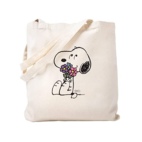 Amazon.com: CafePress – Springtime Snoopy – Gamuza de bolsa ...