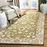 Safavieh Anatolia Collection AN562D Handmade Traditional Oriental Moss and Ivory Wool Area Rug (3′ x 5′) Review