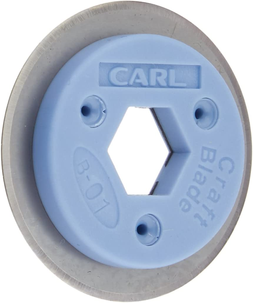 CARL B-01 Professional Rotary Trimmer Replacement Blade - Straight: Arts, Crafts & Sewing