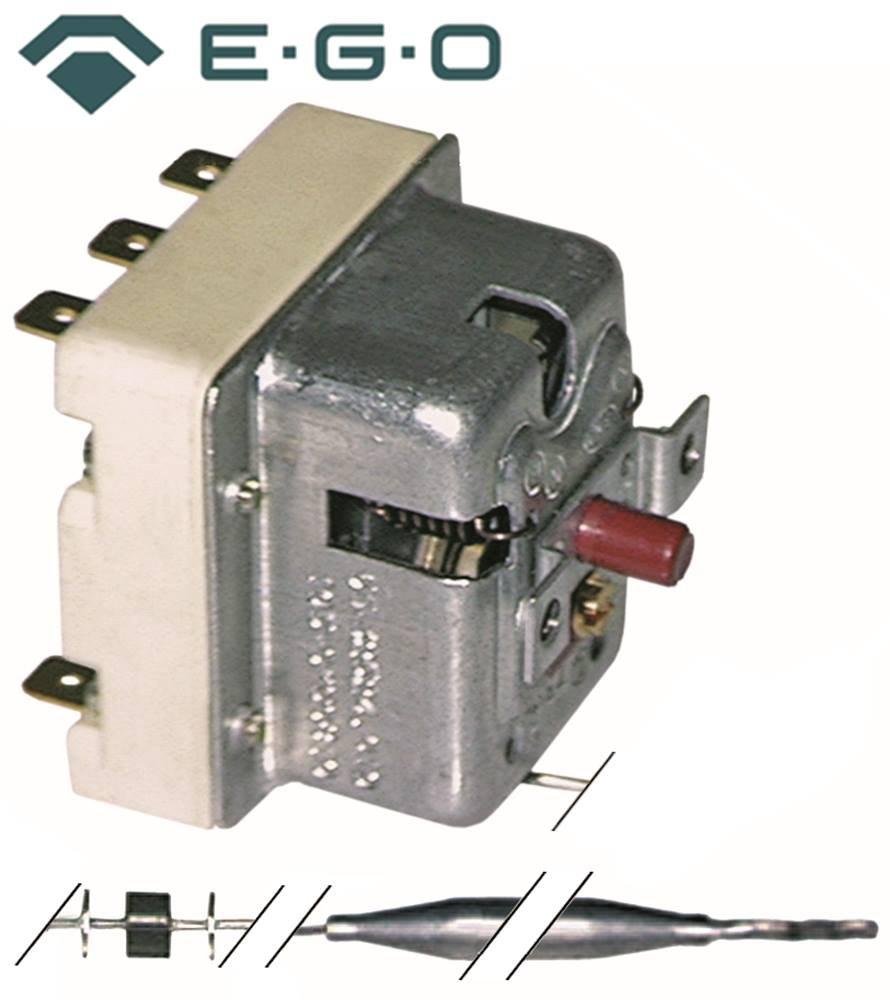 Thermostat de sécurité EGO Type 55.32522.846pour Prima Bouilloire, lave-vaisselle, Hottes de lave-vaisselle Emmepi