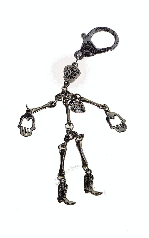 Bolso Joyas - Llavero - Esqueleto - Joyas De Moda: Amazon.es ...