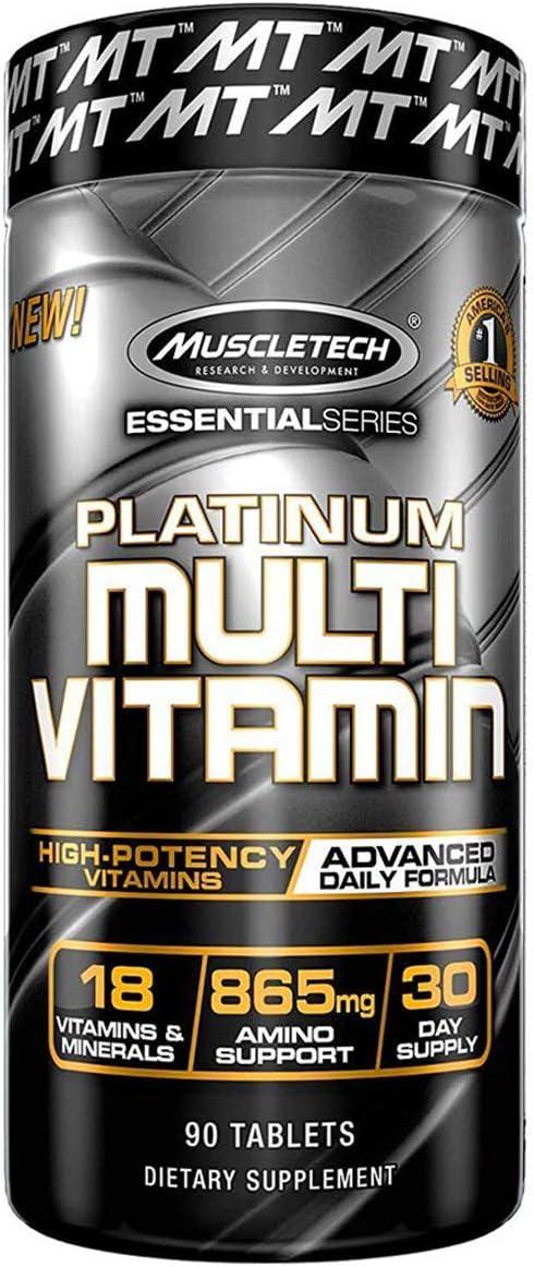 Platinum Multi Vitamin por Muscletech