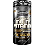 MuscleTech Multivitamin, Multi Vitamin for Adults, 90 caplets