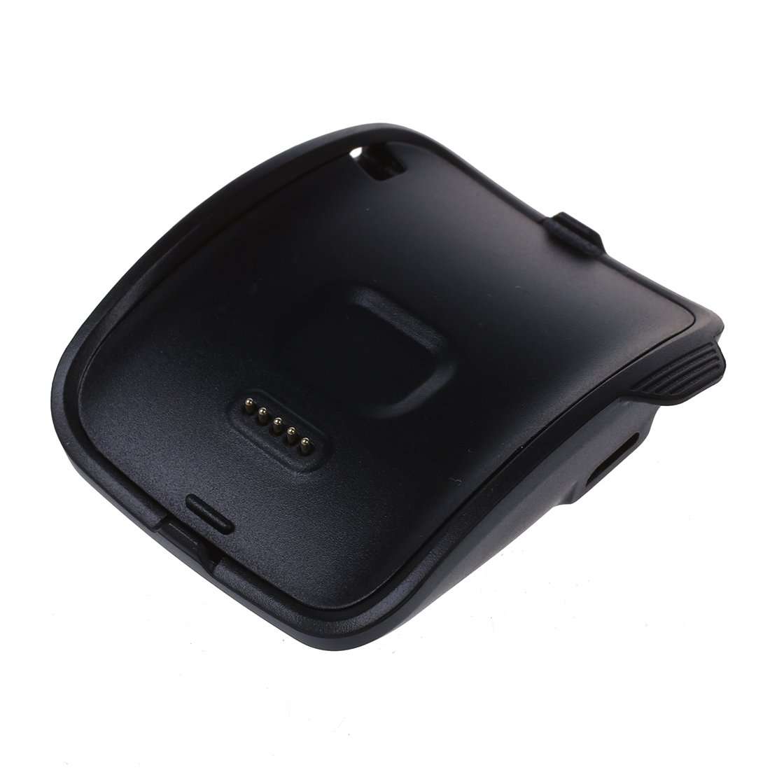 Amazon.com: SODIAL(R) Nueva carga para Samsung Gear S inteligente reloj SM-R750 cuna cargador del muelle + Cable USB Negro: Cell Phones & Accessories