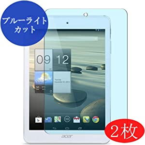 "【2 Pack】 Synvy Anti Blue Light Screen Protector for Acer iconia A1-830 A1311 7.9"" Anti Glare Screen Film Protective Protectors [Not Tempered Glass]"