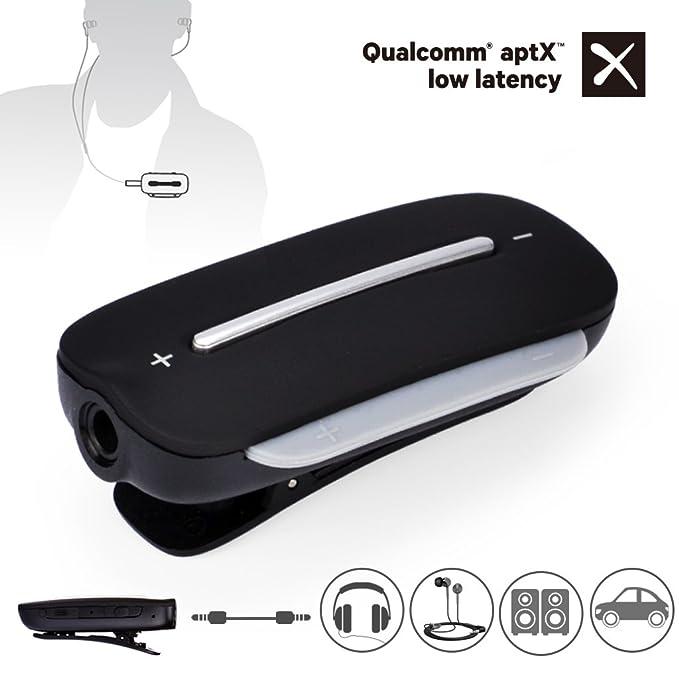 Avantree Clipper PRO Adattatore Ricevitore Bluetooth 4.2 per Cuffie ... 3fecd2735857