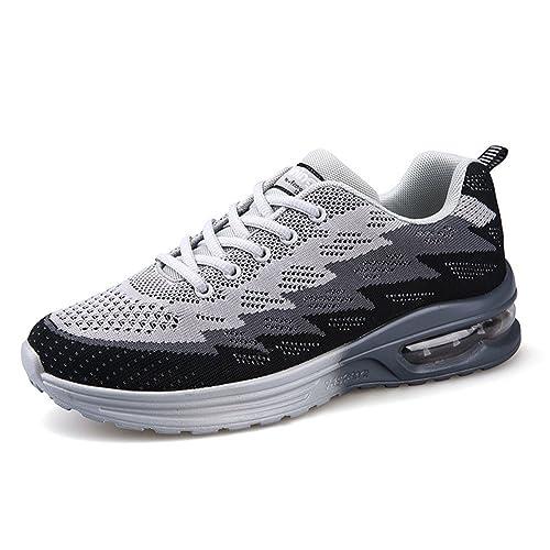 MIMIYAYA Air Zapatillas de Deportes Hombre Mujer Zapatos Deportivos Running Zapatillas para Correr Ligero y con Estilo 34-44EU: Amazon.es: Zapatos y ...