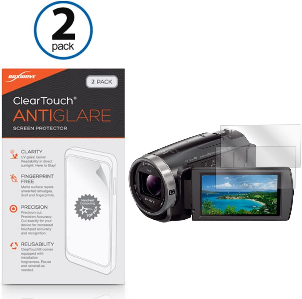 Lexerd Compatible with Sony FDR-AX100 TrueVue Anti-Glare Digital Camcorder Screen Protector