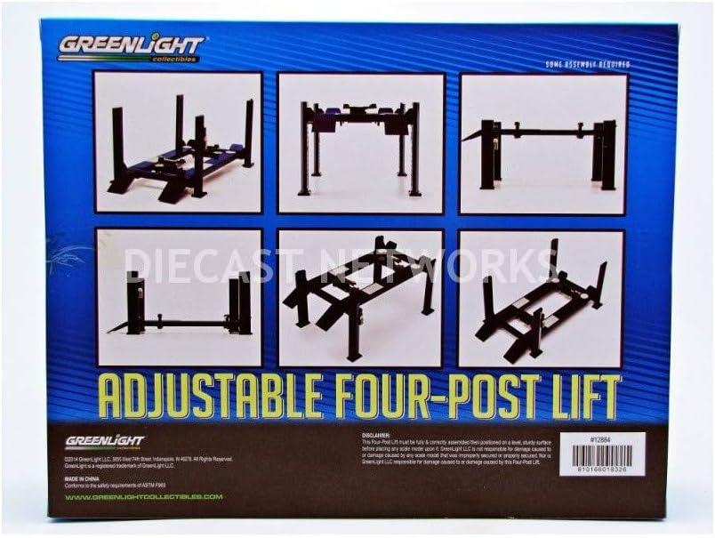 Greenlight 1:18 Adjustable 4-Post Hoist Shell Oil