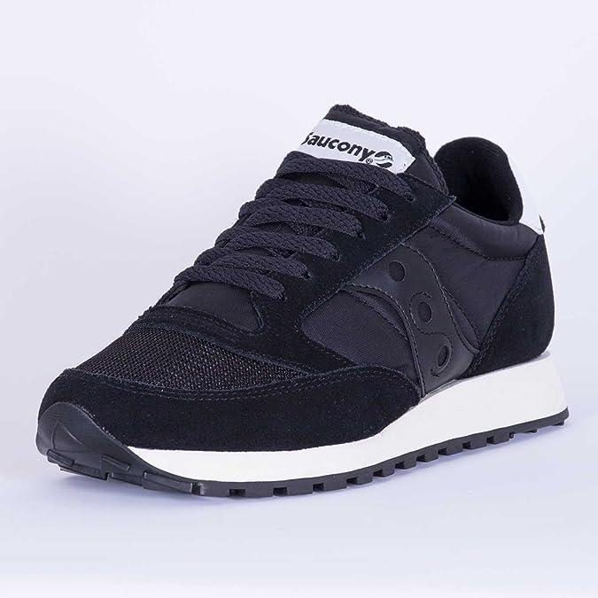 Saucony Jazz Original Men s Real Leather Sneaker Black S70264-1 ... accc5869dad