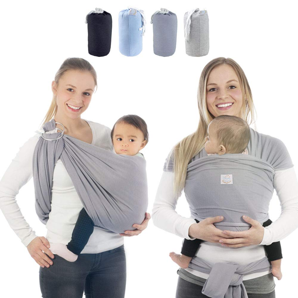 Baby Carrier Cotton Breathable Wrap Baby Carrier Sling Newborns Kid Infant Carrier Ring Swing Slings Soft Colorful Comfortable 2019 New Fashion Style Online Mother & Kids