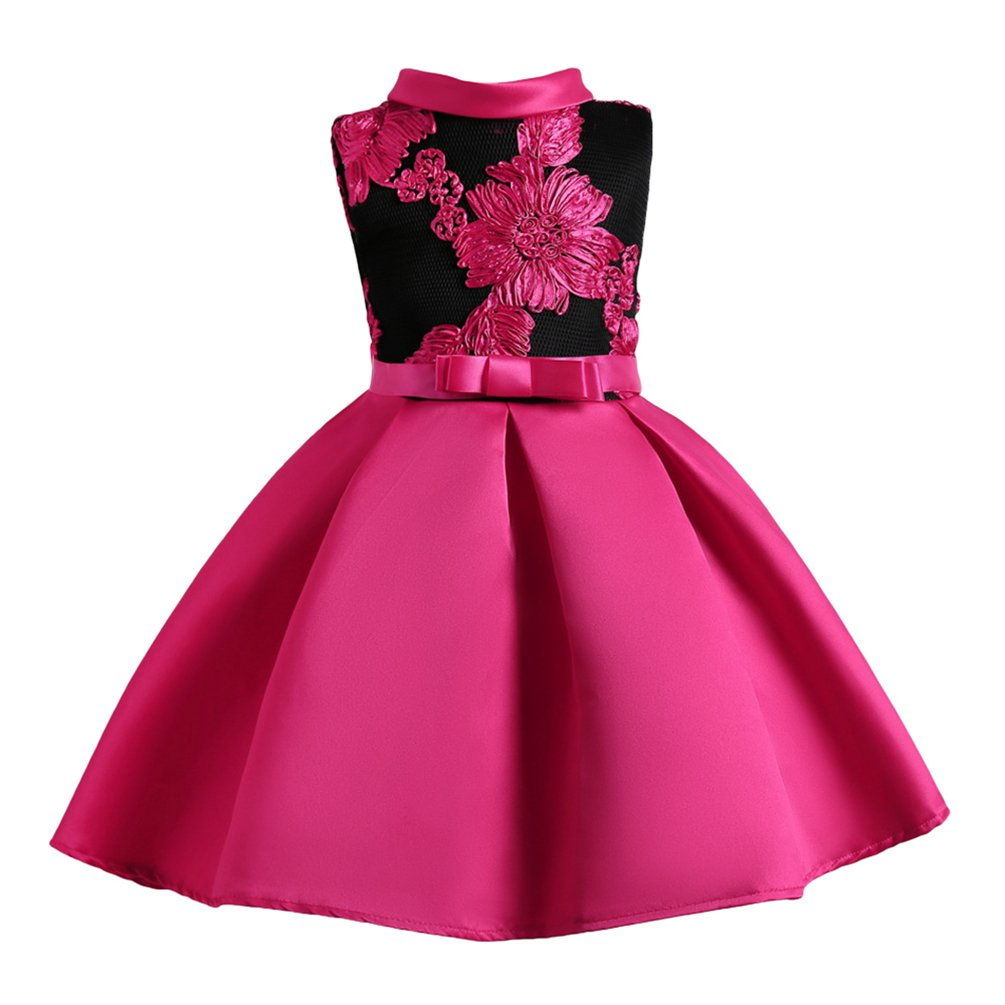 Yuandian Girls Kids Flowers Embroidery N Buy Online In Qatar At Desertcart