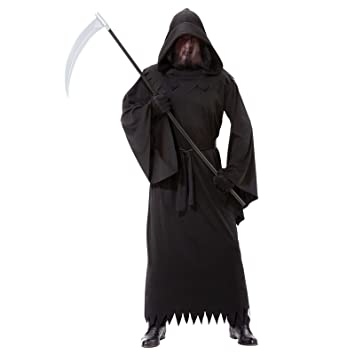 adults mens phantom of darkness costume size plus lxl dementor ghoul scary ghost