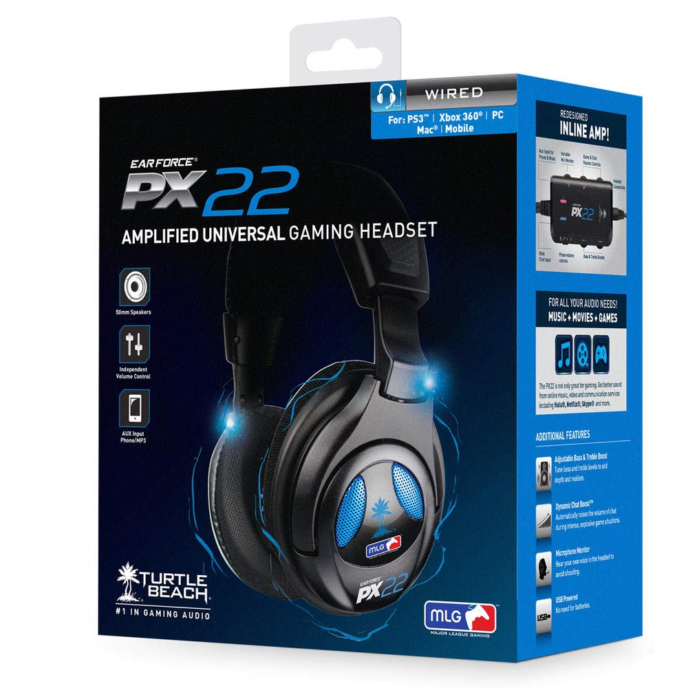 Turtle Beach - Ear Force PX22 Universal Amplified Gaming Headset - PS3, Xbox 360, PC by Turtle Beach