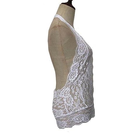 Amazon.com: TIFENNY Women Plus Size Sexy Lingerie, TIFENNYDeep V Halter Lace Underwear Babydoll Mini Bodysuit Siamese Nightwear For Sex: Clothing